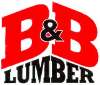 B & B Lumber logo