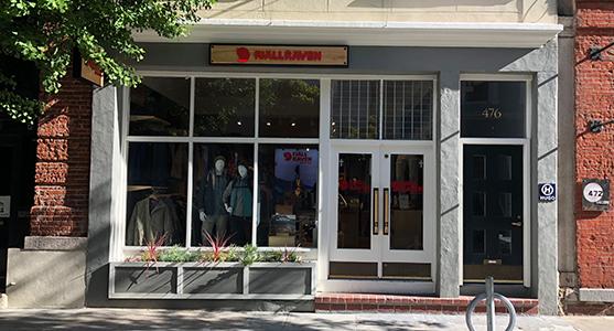 Fjallraven retailer in San Francisco, California