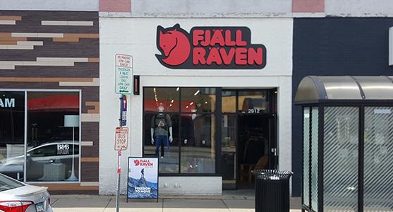 Fjallraven retailer in Minneapolis, Minnesota