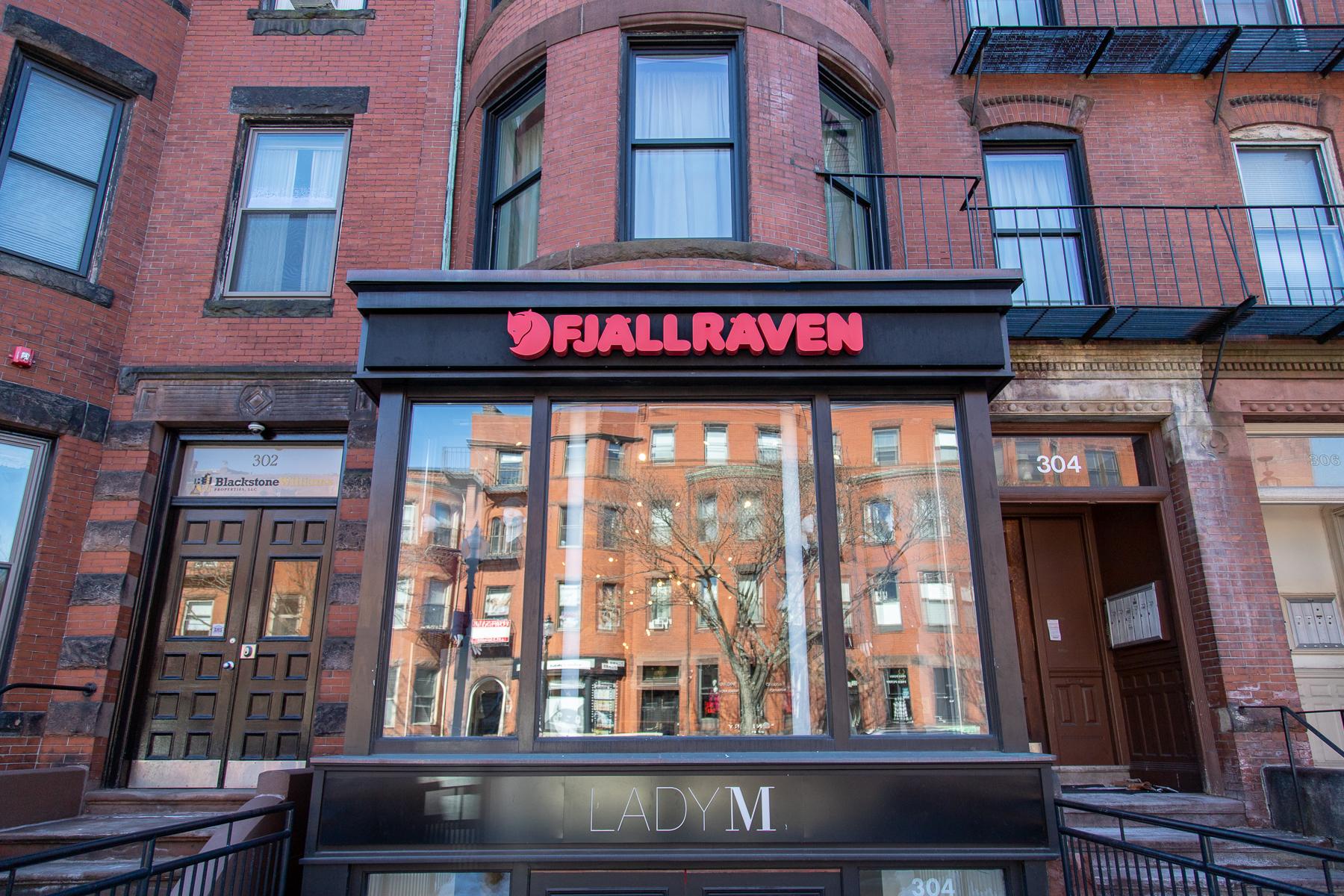 Fjallraven retailer in Boston, Massachusetts