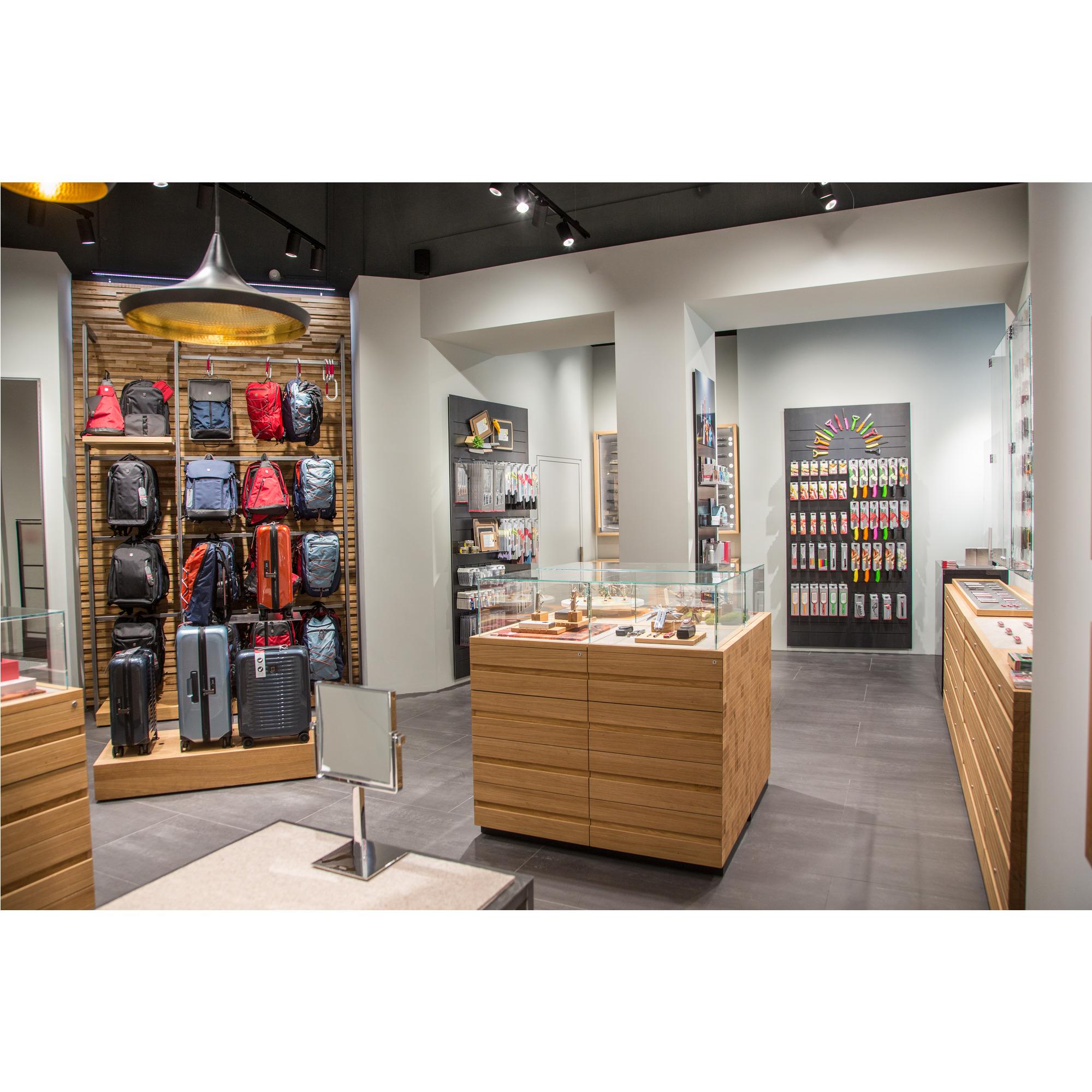 Store interior of Victorinox Store Wien, Wien