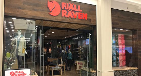 Fjallraven retailer in Bloomington, Minnesota