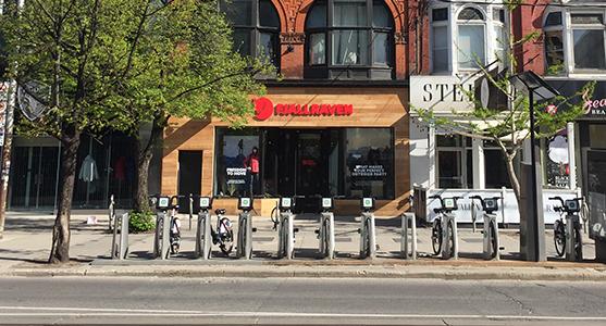 Fjallraven retailer in Toronto, Ontario