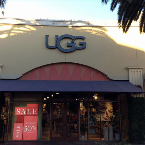 UGG - Shoe Store Front Image in Commerce,California