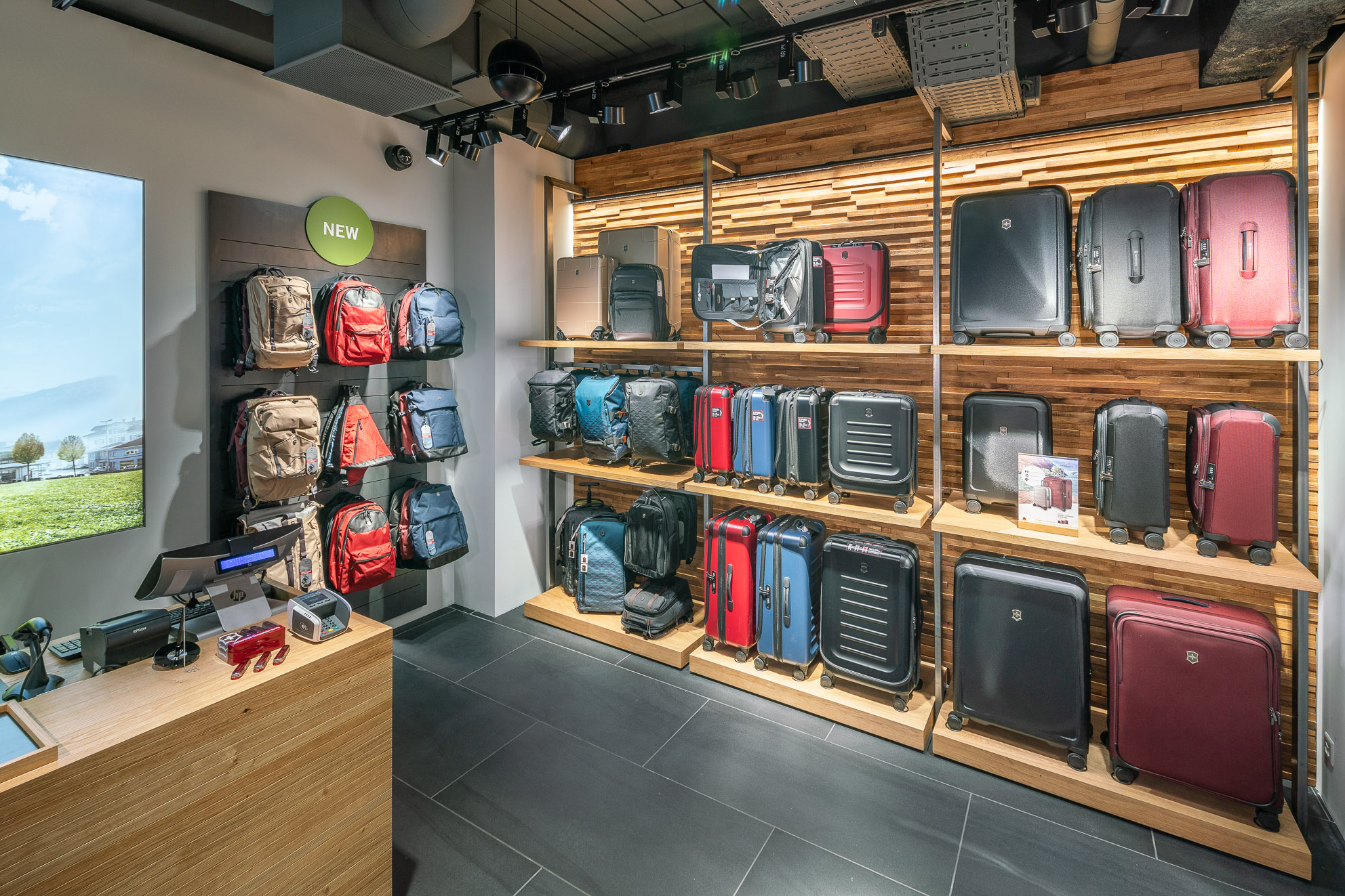 Store interior of Victorinox Store Würenlos, Würenlos