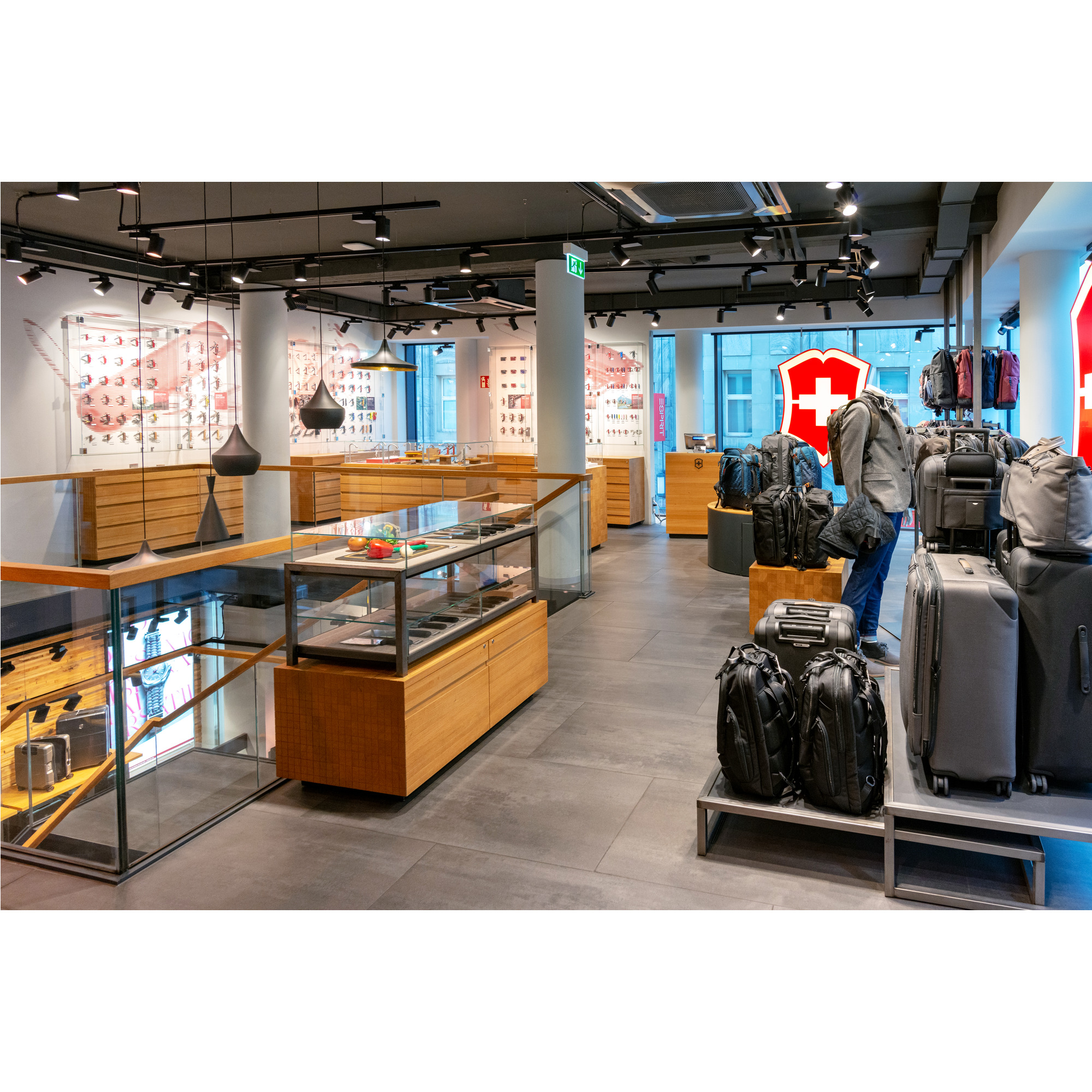 Store interior of Victorinox Store Cologne, Köln