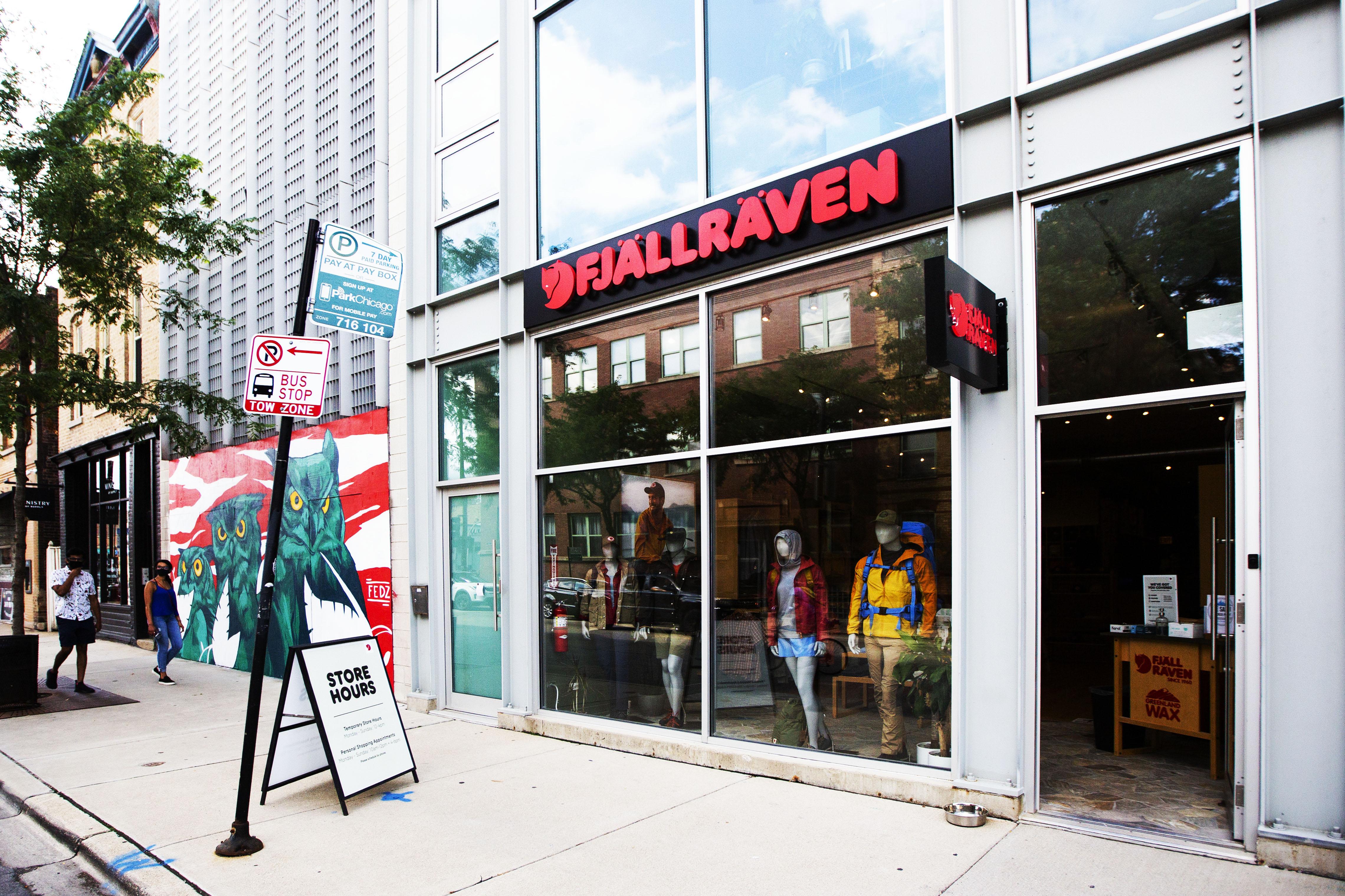 Fjallraven retailer in Chicago, Illinois