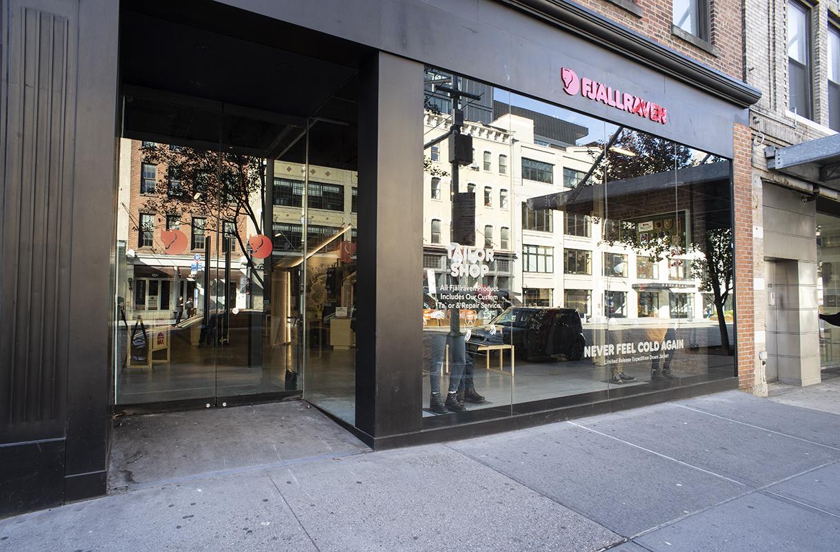 Fjallraven retailer in New York, New York