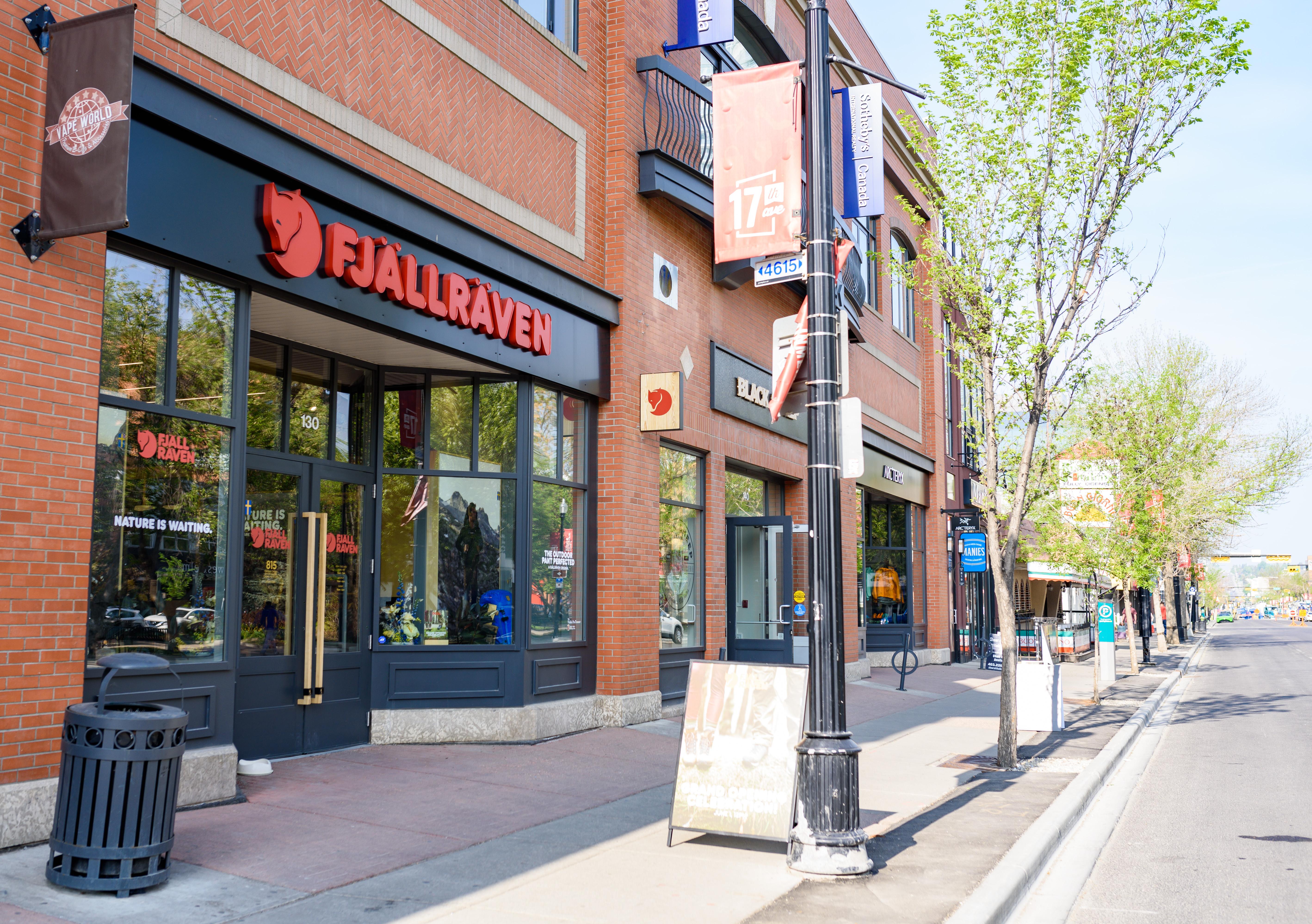 Fjallraven retailer in Calgary, Calgary