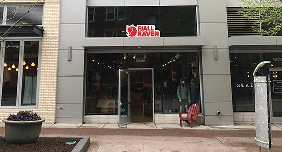 Fjallraven retailer in Madison, Wisconsin
