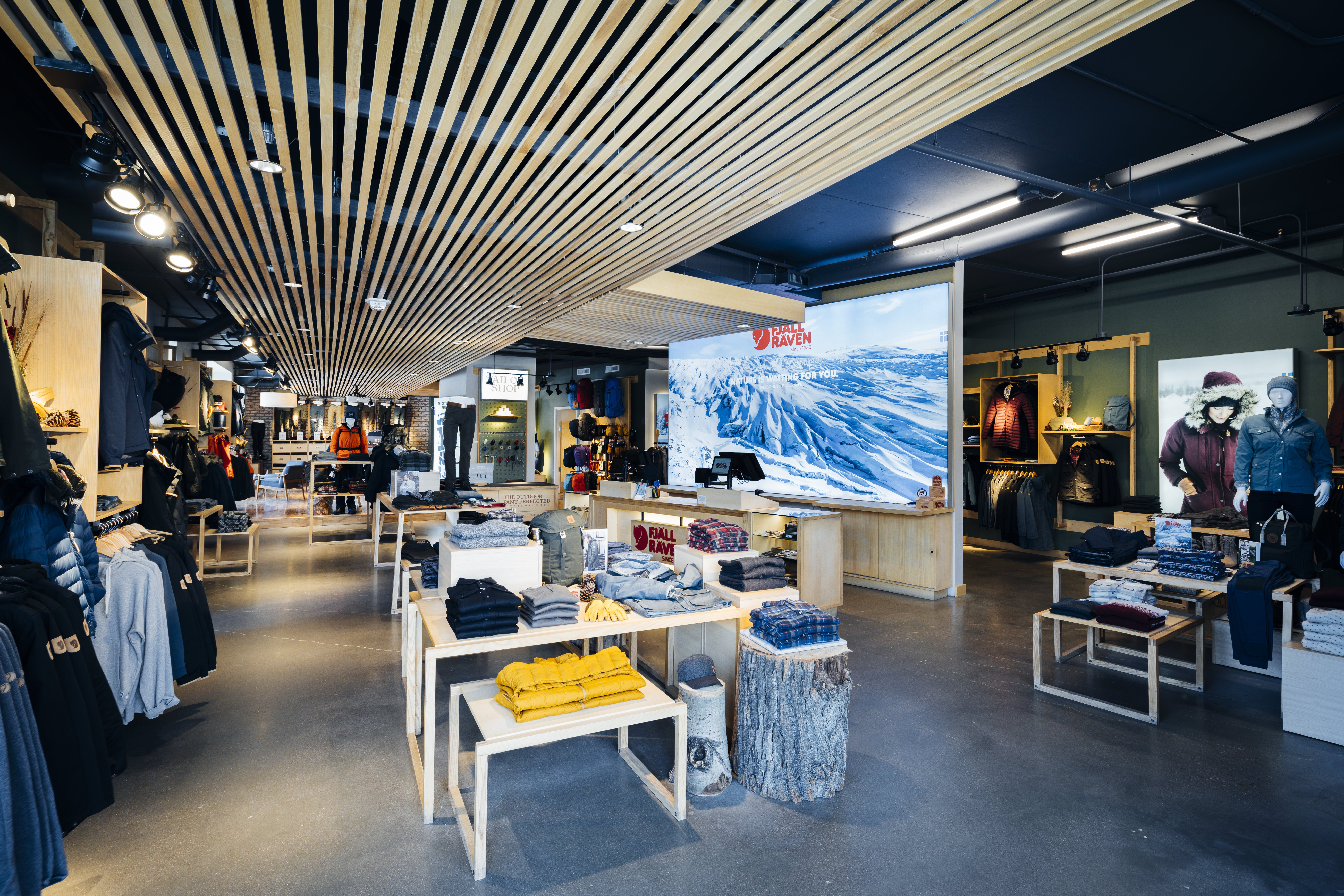 Fjallraven retailer in Boulder, Colorado