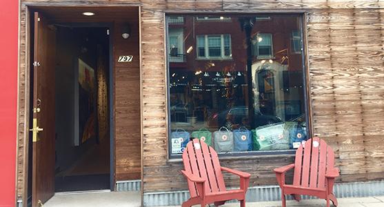 Fjallraven retailer in St. Paul, Minnesota