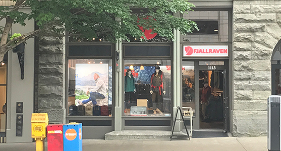 Fjallraven retailer in Seattle, Washington