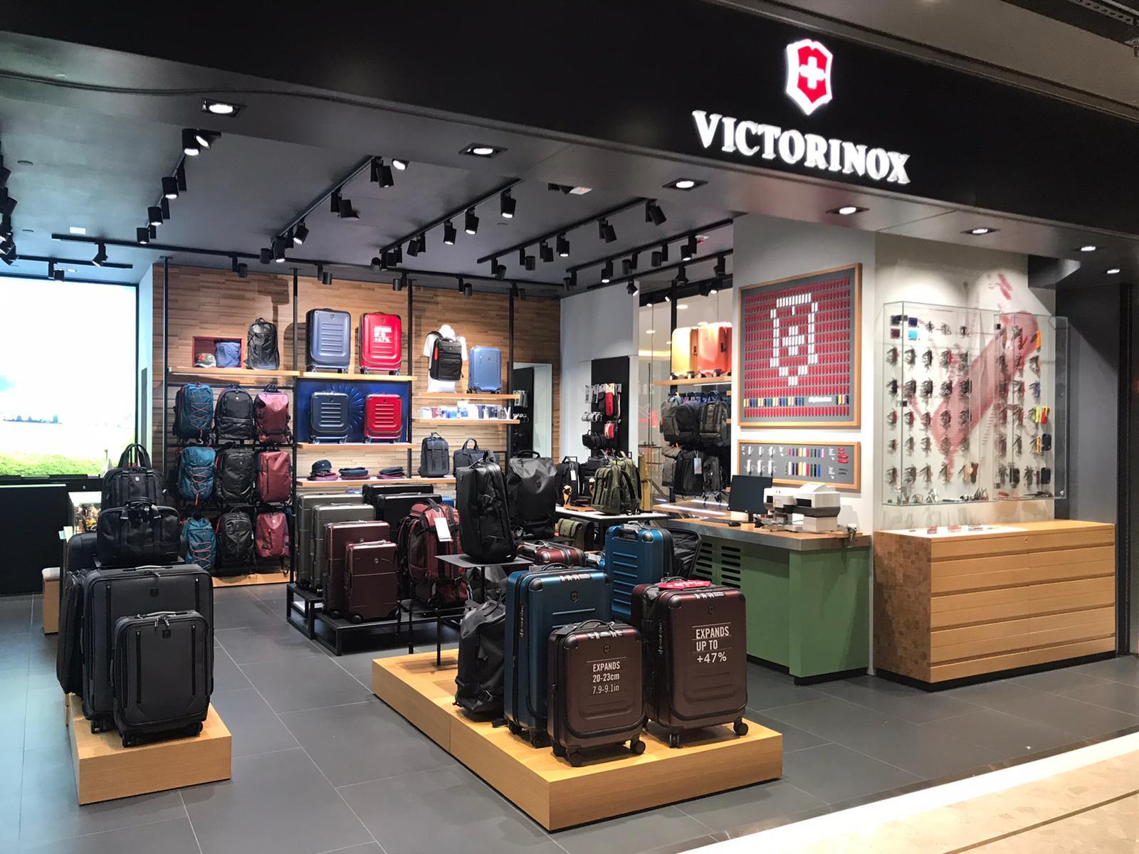 Store interior of Victorinox Store Ocean Terminal, Tsim Sha Tsui